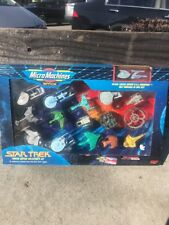 Vintage Star Trek Limited Edition Collector's Set Of 16 Micro Machines Unopened