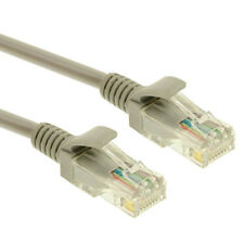 1.5M Ethernet Cable Cat5e RJ45 Network Lan Patch Lead 100% Copper 2XRJ45 Plug