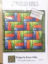 BARGELLO RAILS QUILT QUILTING PATTERN, From The Quilt Studio ON SALE!