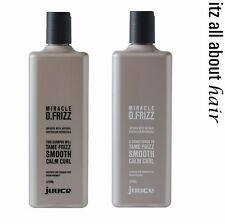 Juuce Miracle D.Frizz Shampoo and Conditioner 375ml Duo