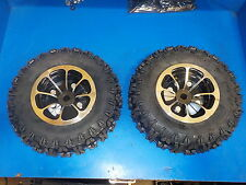 WHEELS AND TIRES GREAT FOR MOBILITY SCOOTER, TRANSAXLE,GO CART, WHEEL CHAIR
