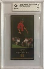 Tiger Woods 1997-98 True Rookie Grand Slam Ventures Beckett 10 VERY RARE