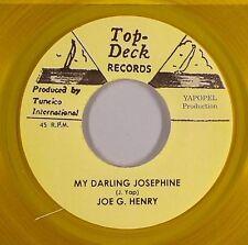 JOE G. HENRY - MY DARLING JOSEPHINE (TOP TECK) 1965