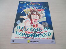 >> VANILLA SYNDROME MAHJONG PC ENGINE CD A4 FLYER CHIRASHI HANDBILL! <<