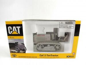 Norscot Die Cast 1:16 Scale CAT 2-Ton Tractor New 55003