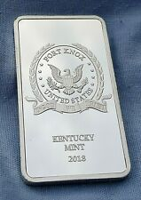 Fort Knox Silver Bar Kentucky Mint USA Bullion Donald Trump Americana New York