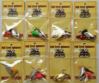 Lot Of 8 Inline Trout Spinners Lure 110 Different Options  American Made Lures