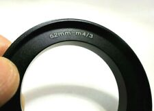 52mm Macro Reverse Lens Adapter Ring For M4/3 Micro Four Thirds Camera OM-D GH5