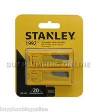 Couteau Stanley lames heavy duty 1992b (2 boîtes de 10) 198460