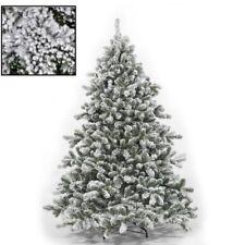 Albero di Natale Innevato cm 210 Pino super folto effetto realistico 2,10 mt