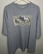 Vintage Wu Wear Global Expedition Systems Graphic T-Shirt Mens XL VTG 90s USA