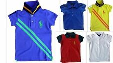 Markenlose Kurzarm Mädchen-T-Shirts & -Tops aus 100% Baumwolle