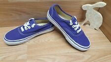 VANS Authentic trainers shoes Lo Top size UK 4.5 US 5.5 Waffle Sole