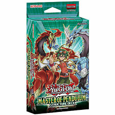 YU-GI-OH CARDS: MASTER OF PENDULUM STRUCTURE DECK (SDMP) SEALED DECK - 2015