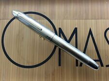 OMAS OGIVA RICHARD HENNESSY 925 STERLING SILVER FOUNTAIN PEN *NEW CONDITION*