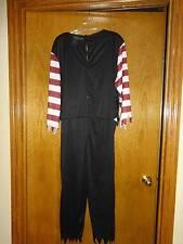 Pirate Costume One Piece Jumpsuit XL 42-46 Men's Halloween Buccaneer Striped