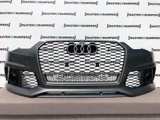 AUDI RS6 2015-2018 Paraurti anteriore con griglie COMPLETO Autentico [A731]