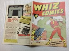 Whiz Comics #2 Photocopy REPLICA Comic Book - 1st Captain Marvel (see details)