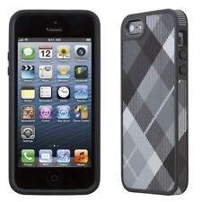 Speck Fabshell Case iPhone SE 5S 5 Megaplaid Black