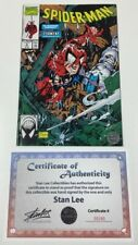 Marvel Spider-man #5 Torment Signed by Stan Lee w/COA Todd McFarlane Cover