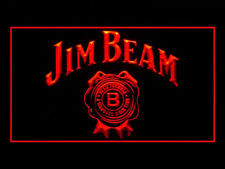 Y094R Jim Beam Bourbon Whiskey For Pub Bar Display Decor Light Sign