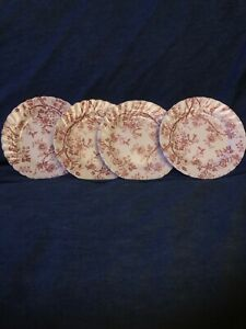 """Johnson Brothers OLD BRADBURY Round Bread & Butter Plate 6 1/4"""" Set of 4"""
