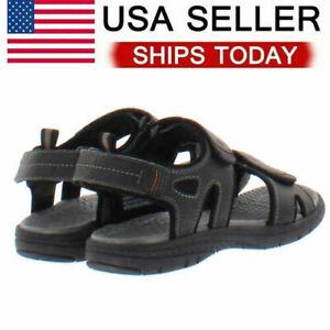 Khombu Men's River Sandals - BLACK (Select Size: 8-12) * FAST SHIPPING *