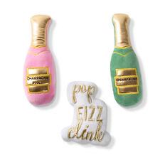 Fringe Studio Minis Champagne 3-Piece Plush Dog Toy Set