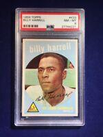 1959 Topps Billy Harrell #433 PSA 8 St Louis Cardinals