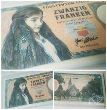Matej Gabris 20 Francs Liechtenstein test fantasy Banknote Private