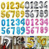 """40"""" Giant Foil Number Balloons Wedding letter Air Helium Birthday Age Party"""