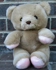 Teddy My Love Brown Pink Bear Plush Toy Stuffed Animal Russ Lovey Berrie Vintage