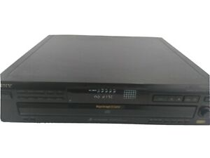 Sony CDP-C360Z CD Player 5 Compact Disc CD-R Changer Tested