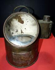 Magnetic Nautical Compass Ship Binnacle Vtg Antique Marine Lamp Brass Japan 日本国
