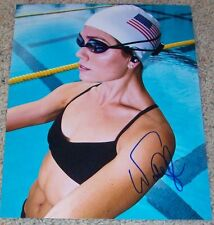NATALIE COUGHLIN SIGNED U.S.A. OLYMPIC SWIMMING 8x10 PHOTO w/PROOF AUTOGRAPH G