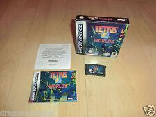 Tetris Worlds (Nintendo Game Boy Advance) in OVP, mit Anleitung, sehr gepflegt