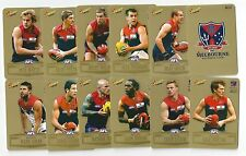 2012 Champions Gold Parallel MELBOURNE Team Set