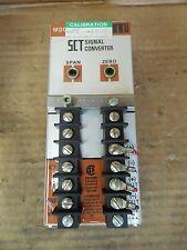 Moore STC Signal Converter SCT 0-10V 0-10V 117AC HI ATL STD Used