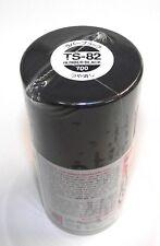 Tamiya TS-82 RUBBER BLACK Spray Paint Can  3.35 oz. (100ml) 85082