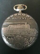montre de poche roskopf véritable chemin de fer