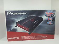 Pioneer GMA6704 1000W 4 Channel Bridgeable Class AB Bass Boost Car Amplifier NIB