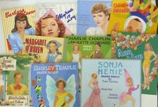 Lot of 10 Hollywood Stars Paper Doll Books