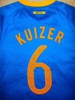 BRASIL NATIONAL TEAM JERSEY  SZ L Football Soccer JOGAR FUTEBOL CBF # 6 KUIZER