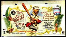 2019 Topps Allen & Ginter Baseball Factory Sealed Hobby Box