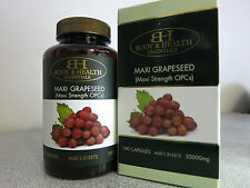 Body & Health Maxi Grapeseed 30000mg 100 Capsules - Grape Seed Extract