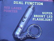 Cute red laser pointer and mini flashlight