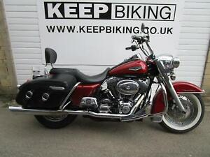 2005 HARLEY DAVIDSON FLHRCI 1450cc ROAD KING CLASSIC 14888 MILES. STAGE 1 TUNED