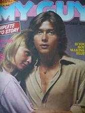 MY GUY MAGAZINE 9TH SEPT 1978 - IAN OGILVY - ANDY GIBB