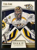 2013-14 Panini Rookie Anthology Gold Pekka Rinne Nashville Predators /100