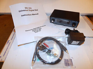 DD-103 UNIVERSAL DIGITAL DIAL READOUT FOR SHORTWAVE & HAM TUBE RECEIVERS